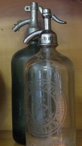 vintage seltzer bottles | Vin'yet Etc.