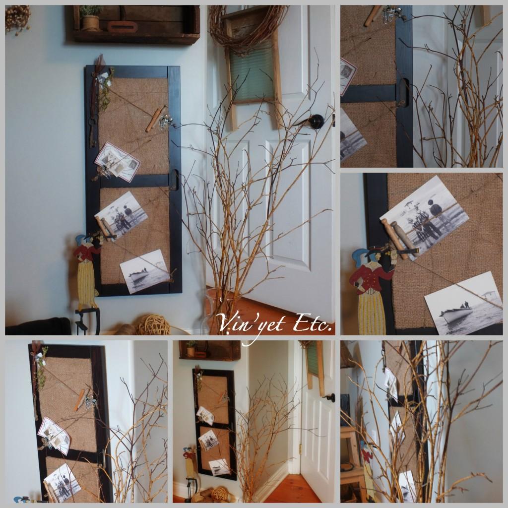 Bulletin Board Collage | Vin'yet Etc.