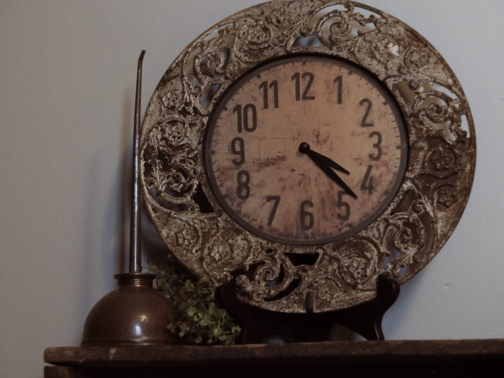 Antique stovepipe collar clock | Vin'yet Etc.