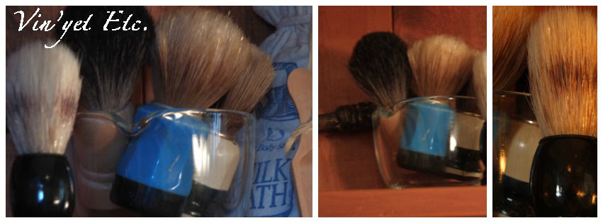 Shaving brushes | Vin'yet Etc.