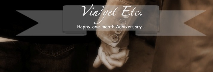 Happy Anniversary | Vin'yet Etc.