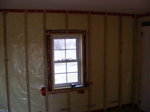 Framing on exterior wall | Vin'yet Etc.