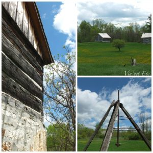 Barn and Cabin Collage | Vin'yet Etc.