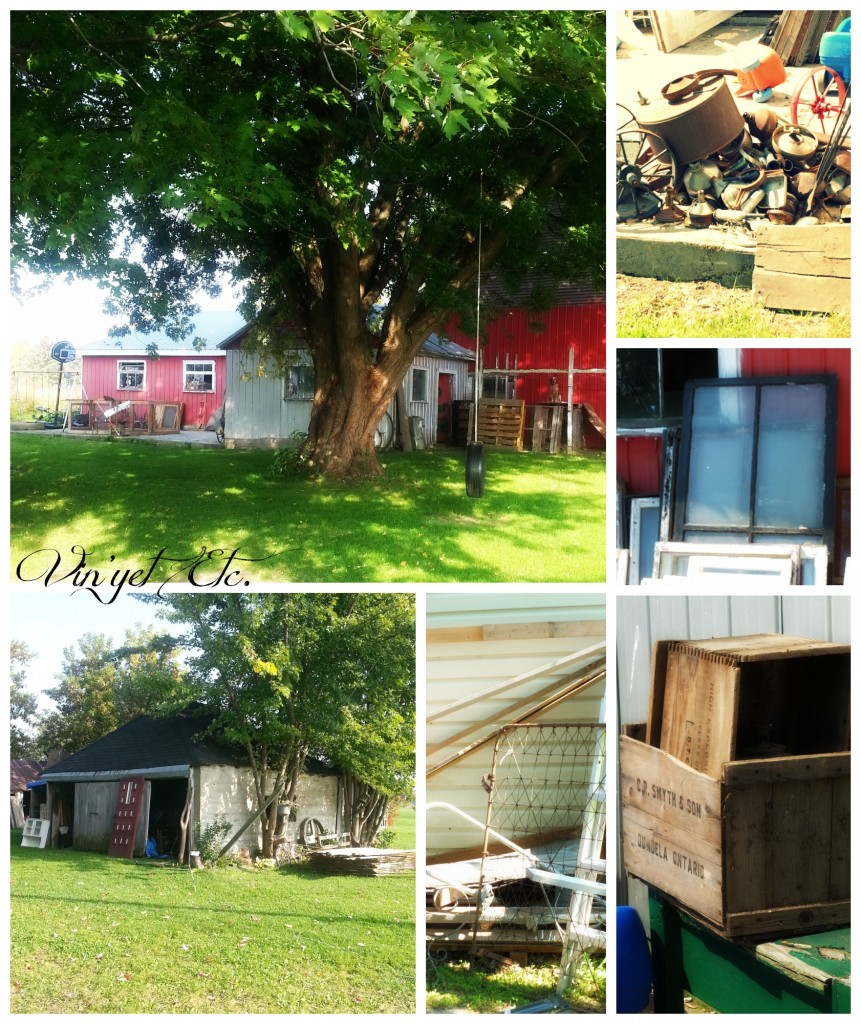 Big and Medium Barn Collage | Vin'yet Etc.