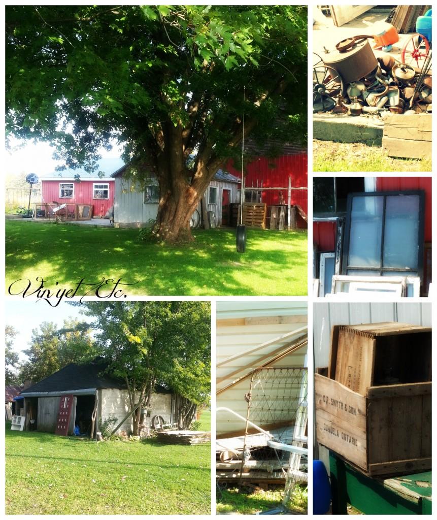 Big and Medium Barn Collage | Vin'yet Etc.