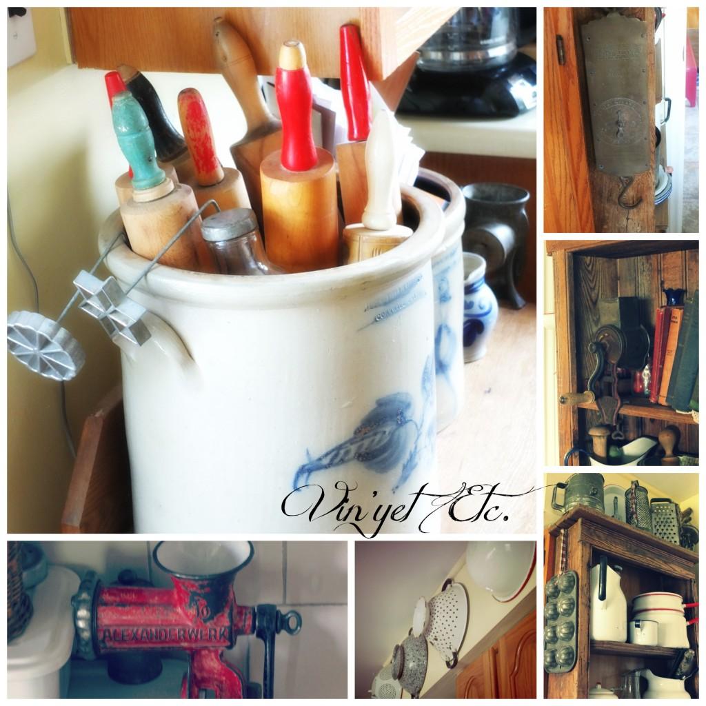 Kitchen Goodies Collage | Vin'yet Etc.