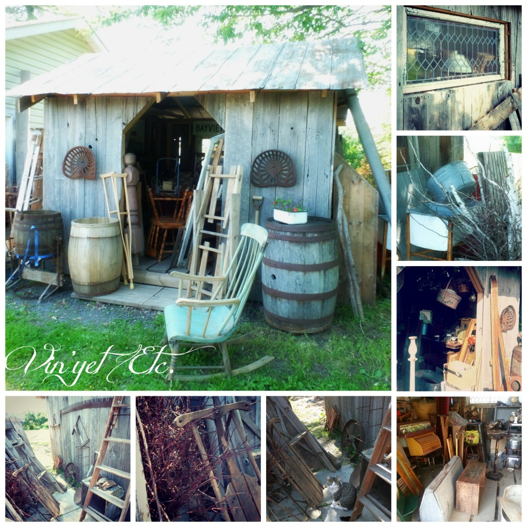 Little Barn Collage | Vin'yet Etc.