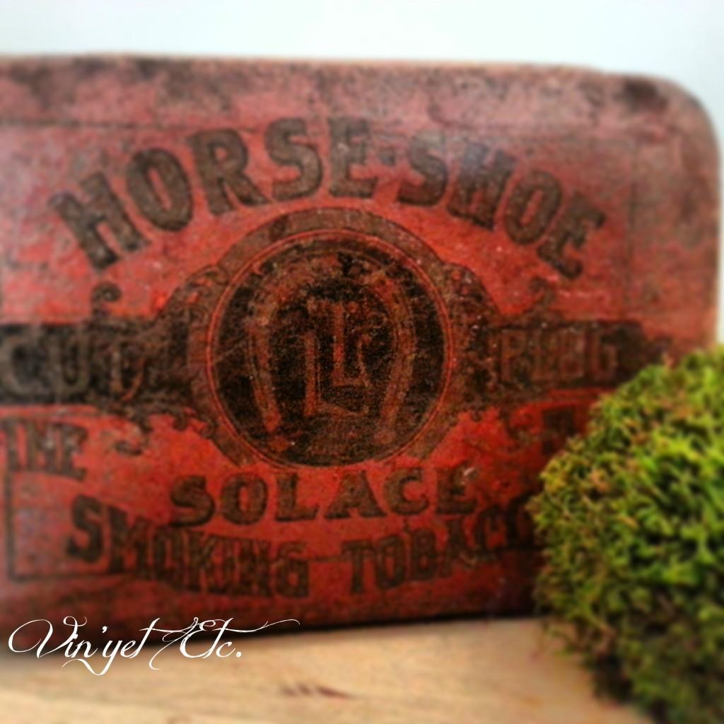 Vintage Tobacco Tin | Vin'yet Etc.
