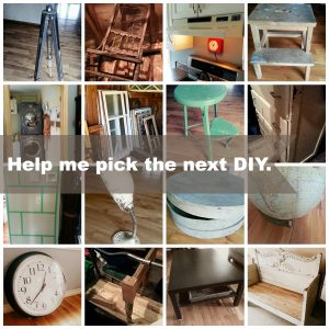 Help me pick the next DIY | Vin'yet Etc.