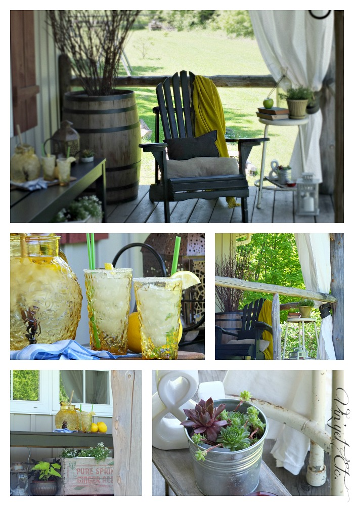 Seating Vignette Collage | Vin'et Etc.