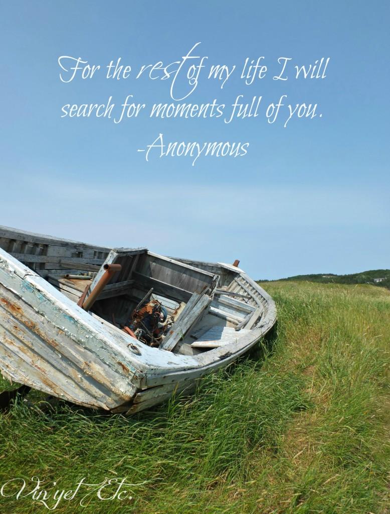 Newfoundland-EmptyBoat-quote-grief| Vin'yet Etc.