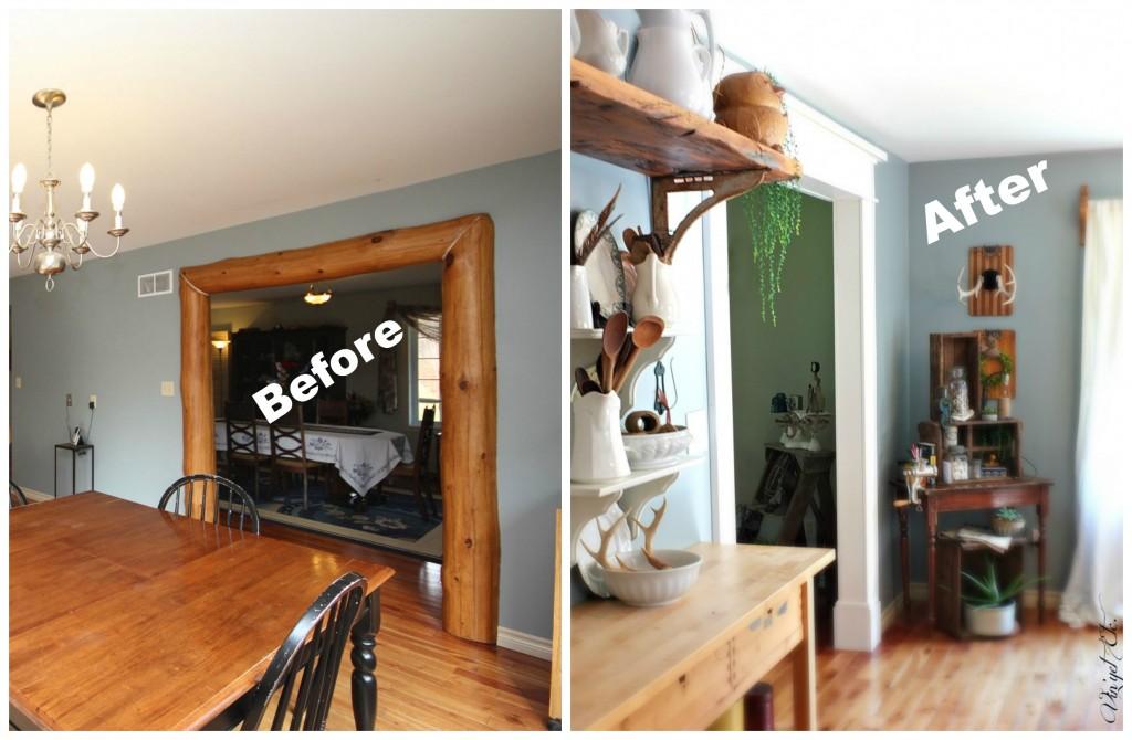 Before_after_Kitchen_trim | Vin'yet Etc.