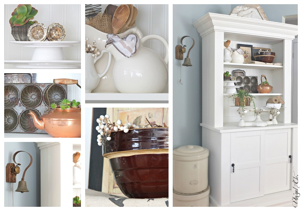 White Farmhouse Cabinet | Vin'yet Etc.