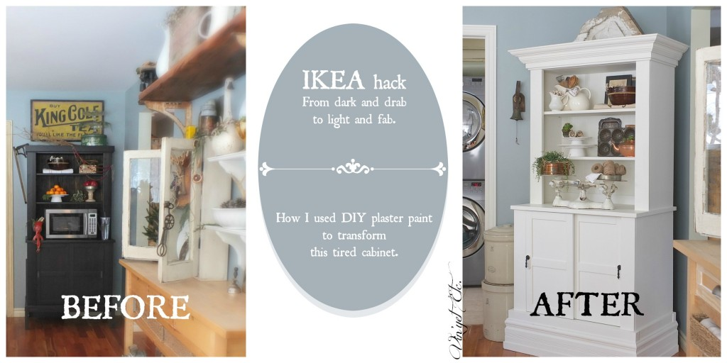 Ikea Hack - DIY plaster paint | Vin'yet Etc.