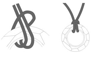 Lark's head knot | Vin'yet Etc.
