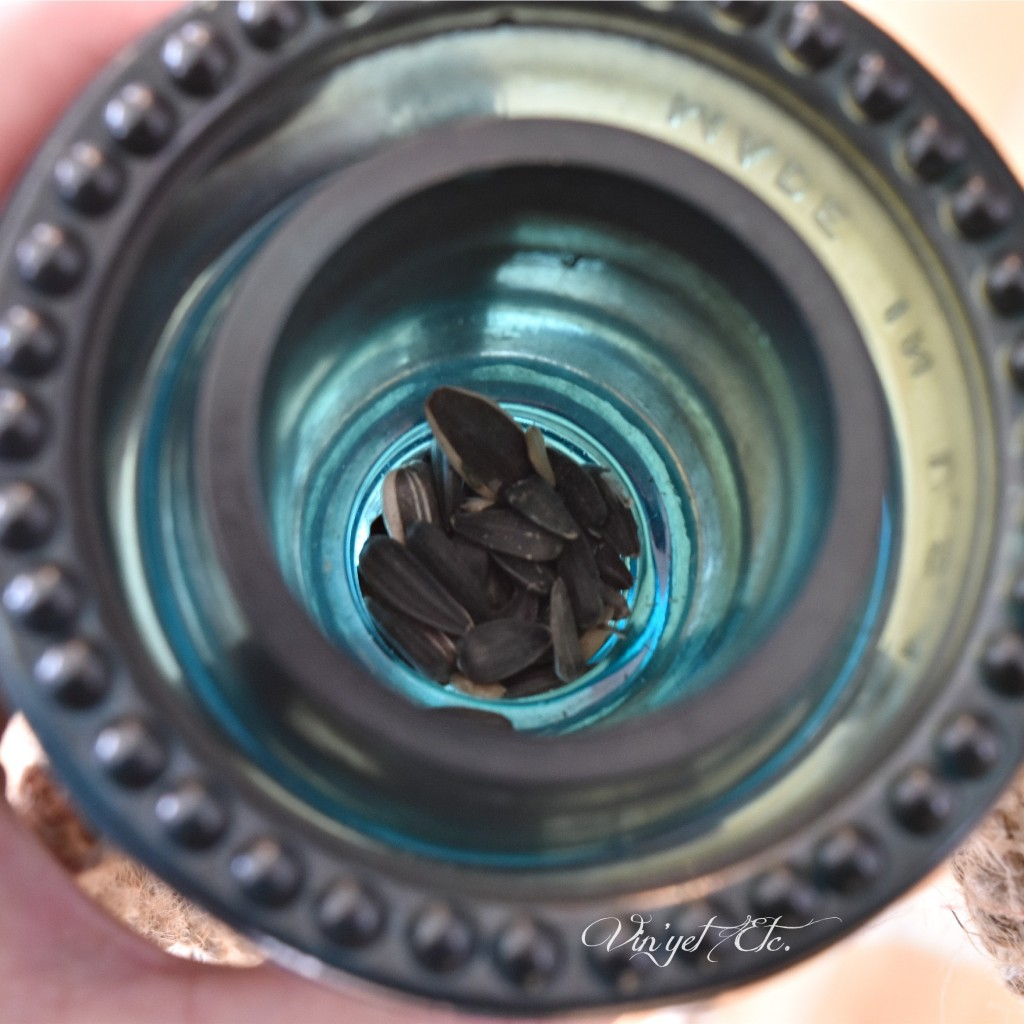 Glass Insulator Suet Feeder | Vin'yet Etc.