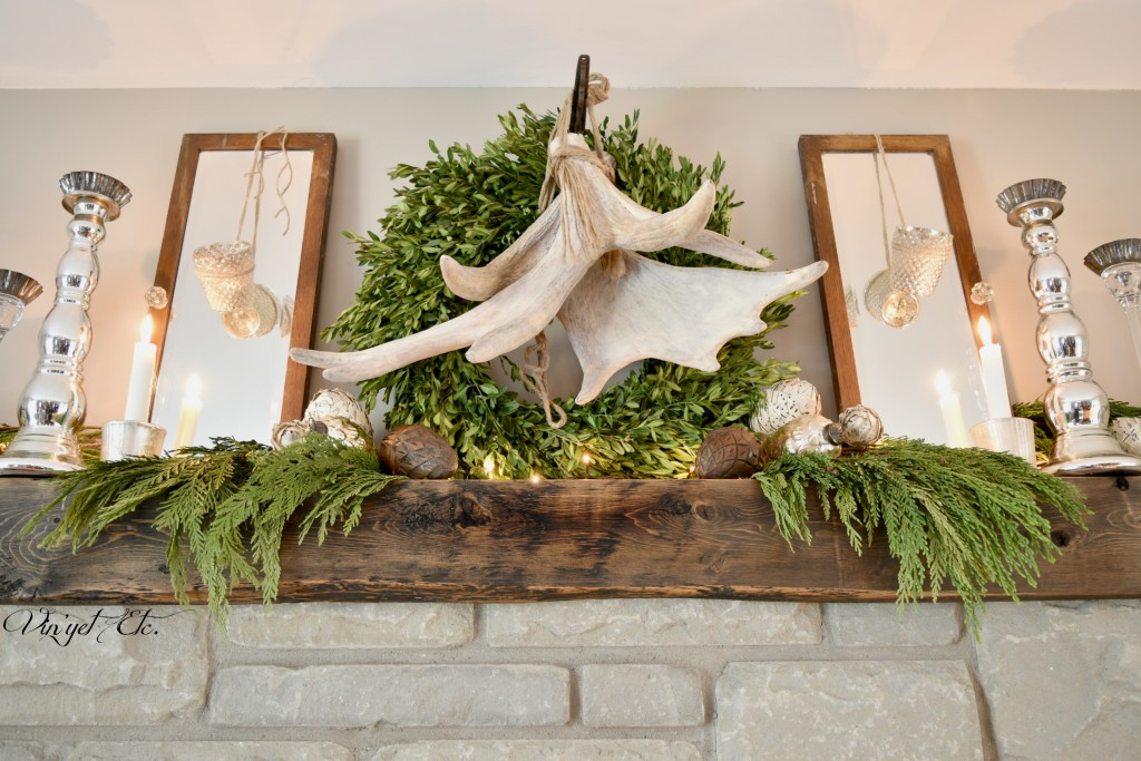 Rustic-Farmhouse-Mantel | Vin'yet Etc.