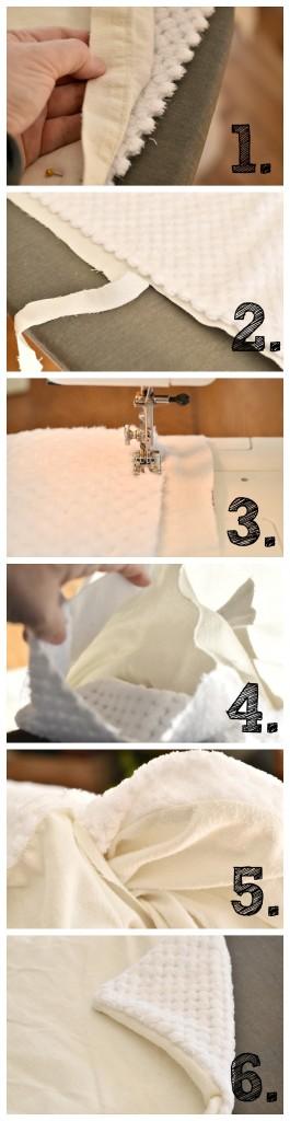 Steps-to-make-chenille-blanket | Vin'yet Etc.