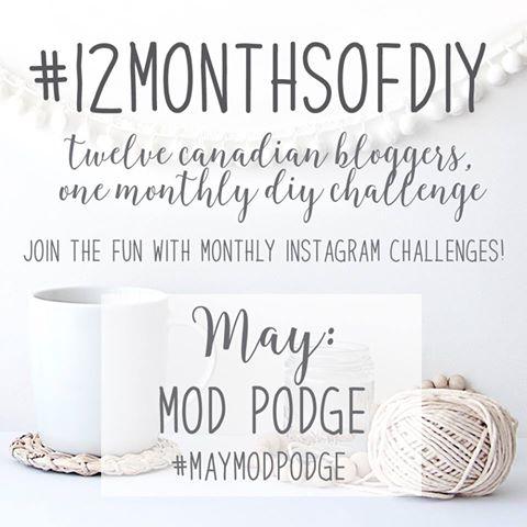Mod Podge Challenge | Vin'yet Etc.