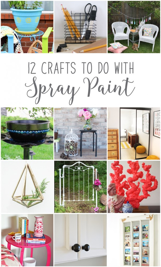 12MonthsofDIY-June-Spray-Paint-DIY-Craft-Ideas | Vin'yet Etc.