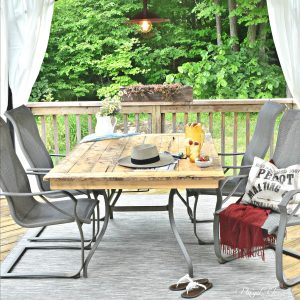 DIY – Simple patio makeover – Extend the life of your outdoor space