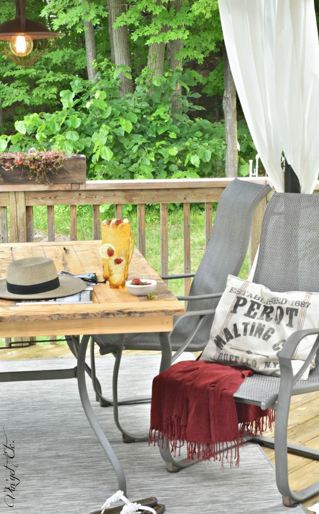 Simple patio makeover – Extend the life of your outdoor space | Vin'yet Etc.
