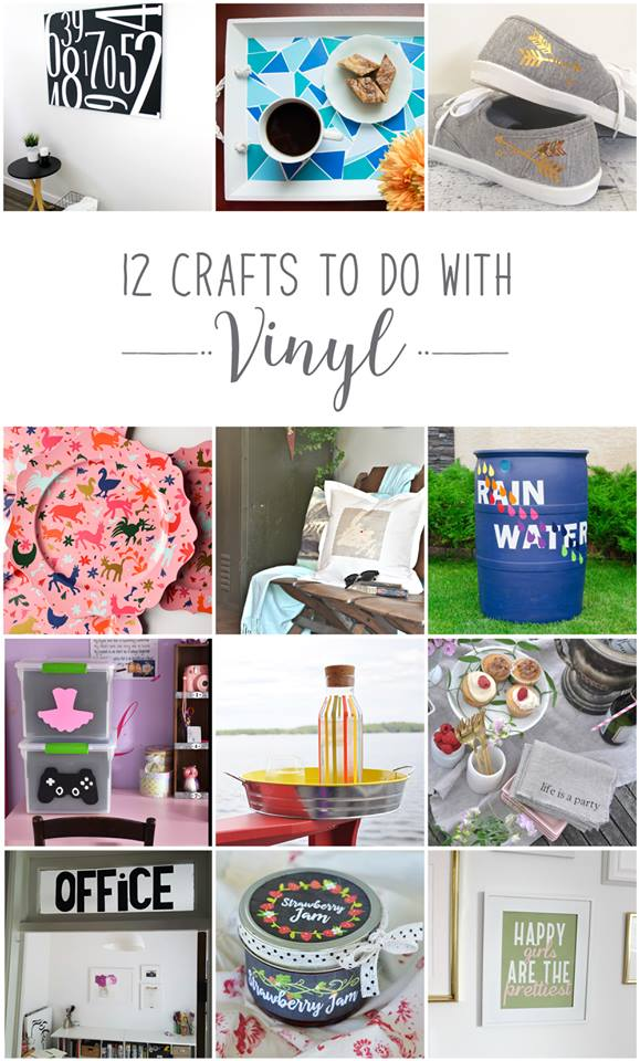 12 Crafts to do with Vinyl | VinYetEtc