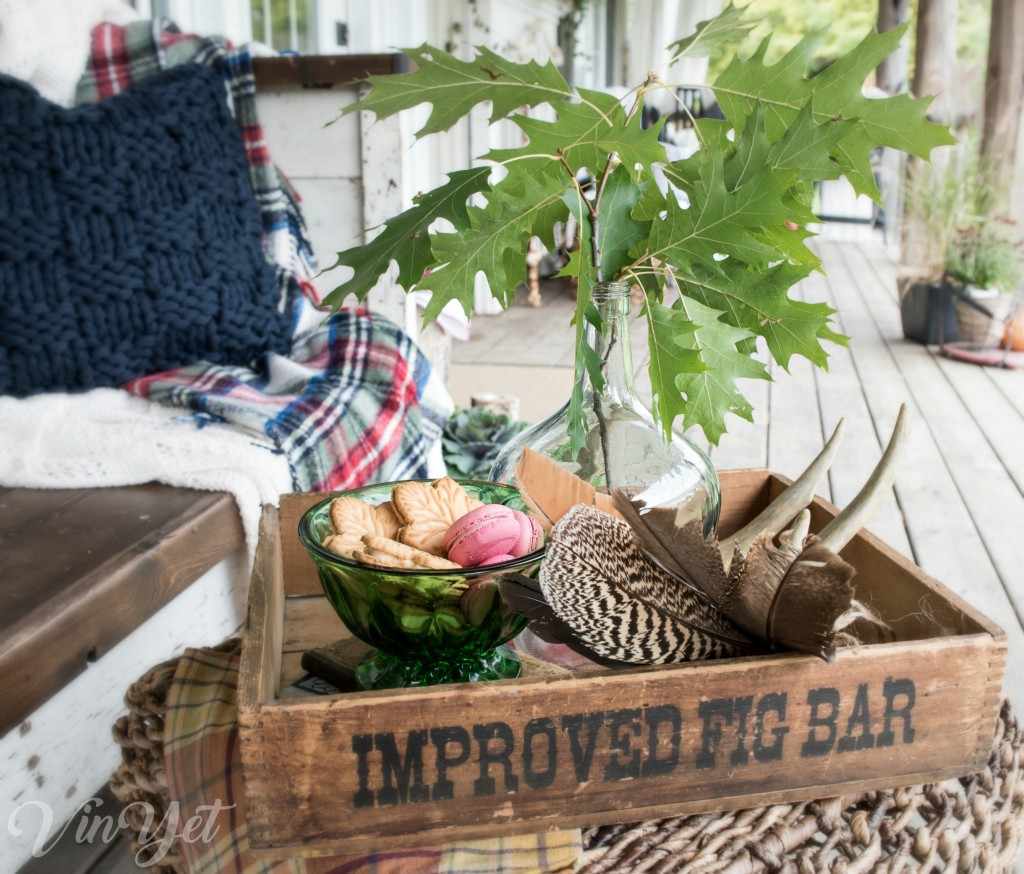 Canadian Fall Home Tour - Maple Cookies and oak leaves | VinYet ETC