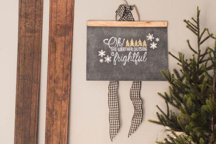 DIY-chalkboard-paper-christmas-art-VinYetETC