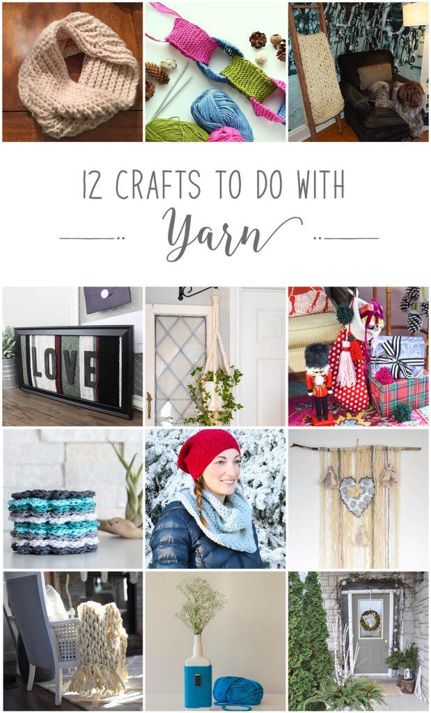 12monthsofdiy-december-yarn-diy-craft-ideas - VinYet Etc