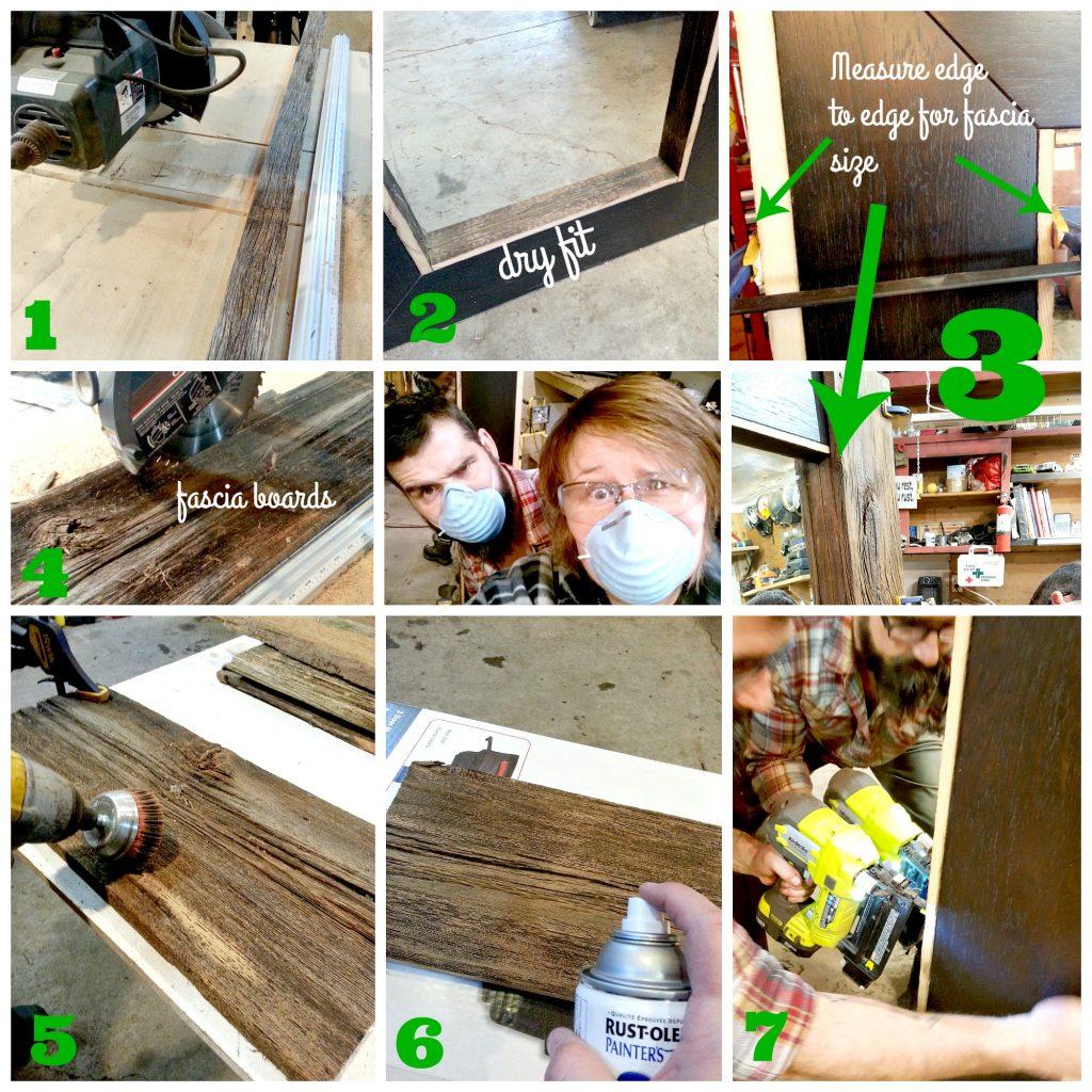 7 steps barn board mirror | Vinyet Etc7 steps barn board mirror | Vinyet Etc