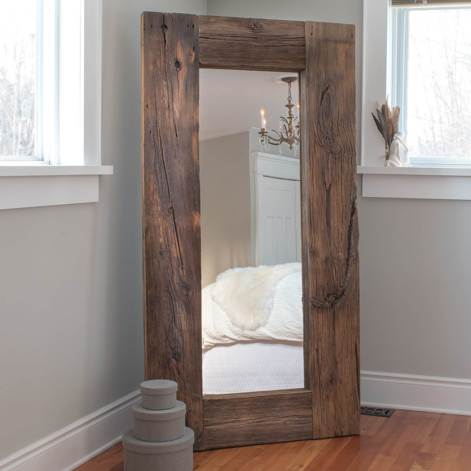 DIY Barn Board Mirror Ikea Hack Vinyet EtcVinyet Etc - Beautiful diy ikea mirrors hacks to try