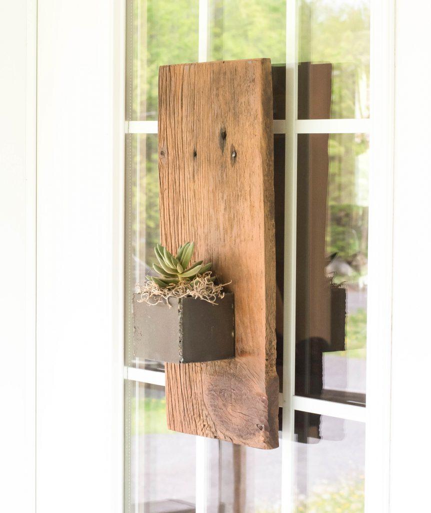 Small Barnboard planter | VinYet Etc.