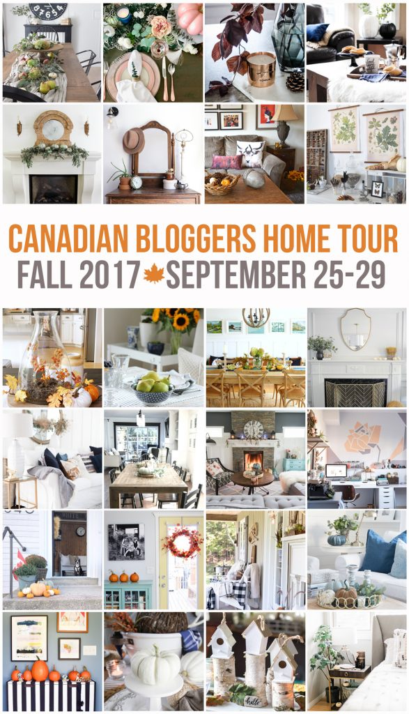 2017-Fall-Canadian-Bloggers-Home-Tour | VinYetEtc