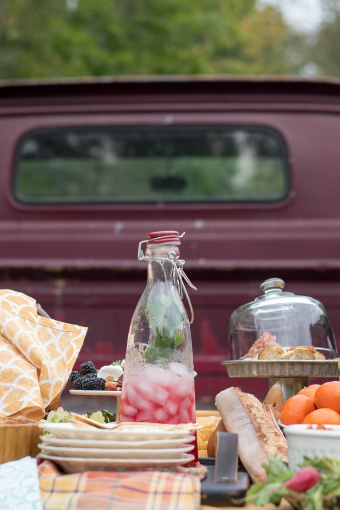Thanksgiving Picnic AND a Vintage Truck | Vinyet Etc.
